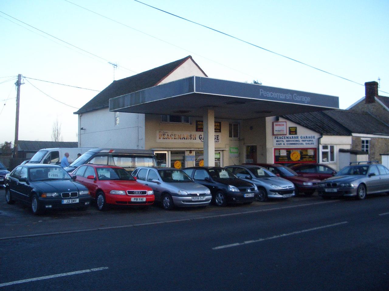 Peacemarsh Garage - MOTs, Sevicing, Used Car Sales, Repairs, Buy Car ...